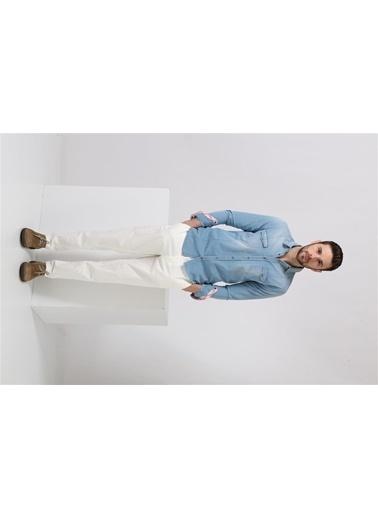Messagerie Pantolon Beyaz